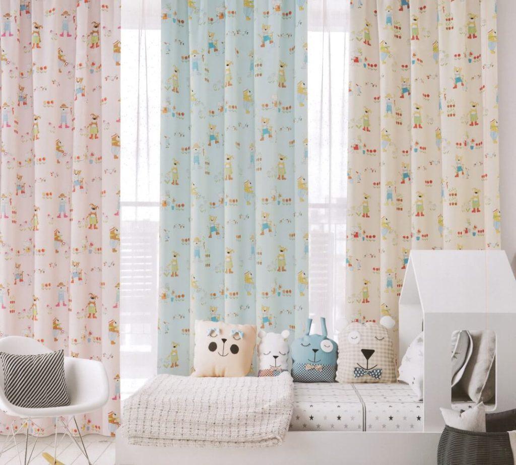 富居窗簾|布、紗材質窗簾